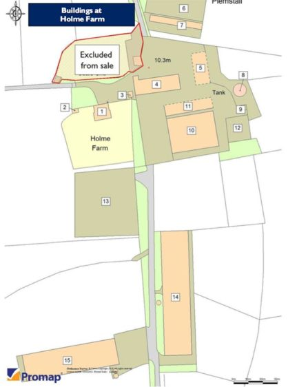 Holme Farm Block Plan